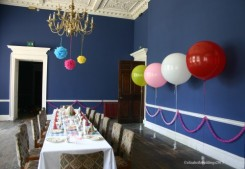 Belle and Boo party at Kings Weston House