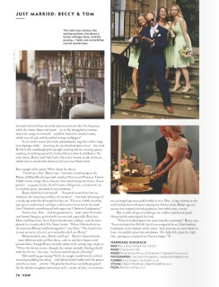 Beccy and Tom Vow 2- Styling by Elizabeth Weddings