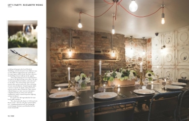Racks styling Vow magazine 2- Elizabeth Weddings