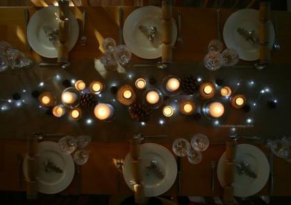 Christmas Winter Table