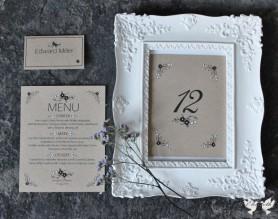 Rustic recycled handmade stationery- Elizabeth Weddings