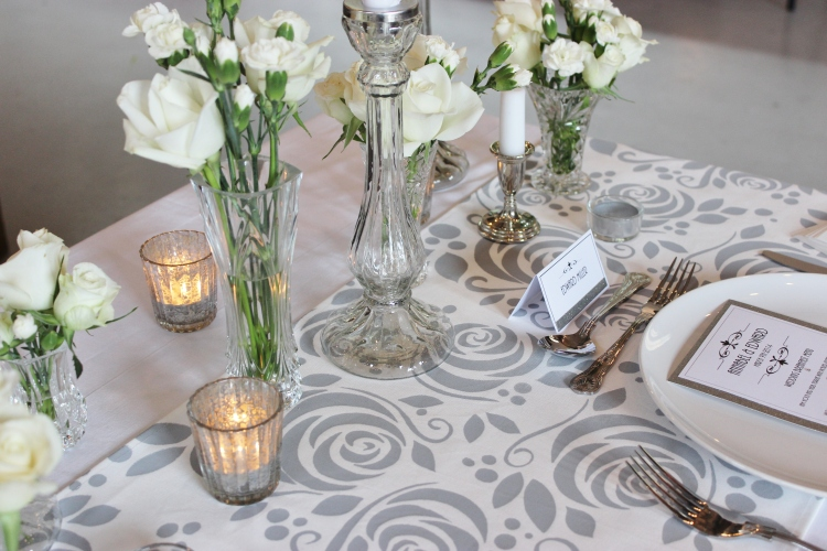 Bespoke Table Runner by Elizabeth Weddings