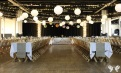 Fairy lights, Paper lanterns and pops of colour- Styling and decor by Elizabeth Weddings