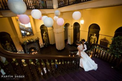 Paper lanterns by Elizabeth Weddings,