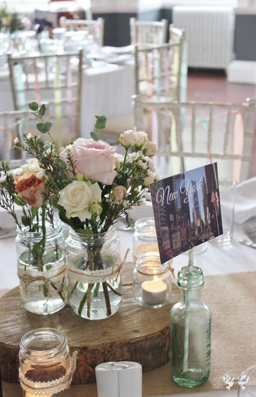 Elizabeth Weddings , Pink, mint, peach and yellow wedding- Styling