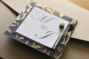 M&J Stationery- Design by Elizabeth Weddings