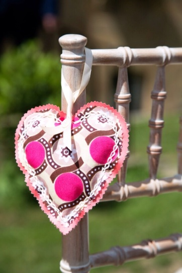 Handmade decorative heart