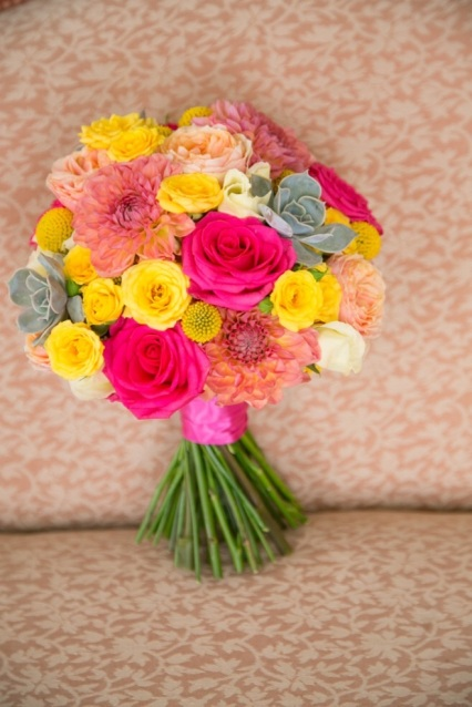 Bridal Bouquet by The Rose Shed
