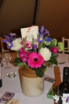 Earthenware centrepieces