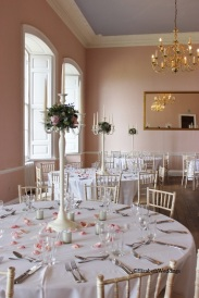 Candelabra centrepieces- Elizabeth Weddings