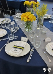 Contemporary table display- Elizabeth Weddings