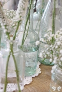 Vintage bottles- Elizabeth Weddings