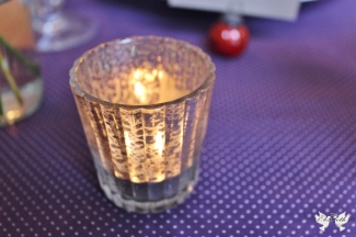 Sparkling Tea light- Elizabeth Weddings