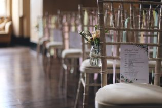 Ceremony chairs- Styling by Elizabeth Weddings