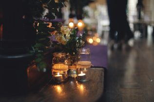 Staircase Decor- Styling by Elizabeth Weddings
