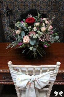 Vintage sash with flowers - The Vintage Sash Company
