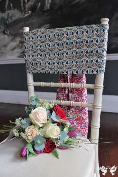 Flowers and Liberty print vintage sashes - The Vintage Sash Company