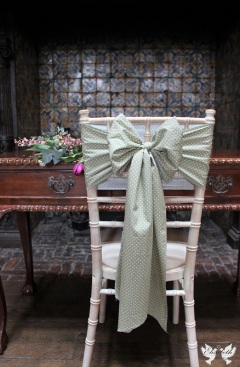 Polka dot vintage sashes - The Vintage Sash Company