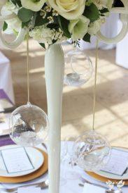 Hanging tea lights- Styling by Elizabeth Weddings