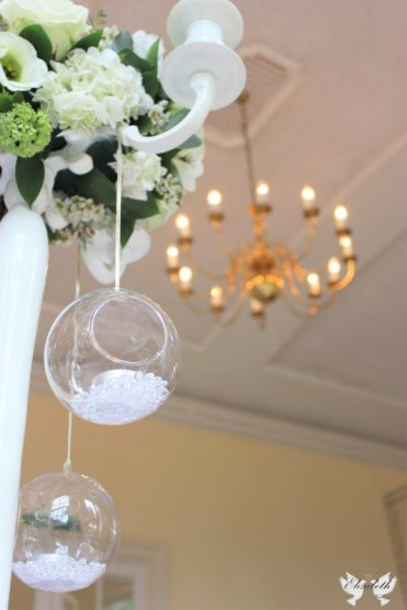 Centrepiece at Goldney Hall- Styling by Elizabeth Weddings