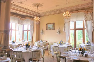 Orchardleigh House Wedding Breakfast- Styling by Elizabeth Weddings