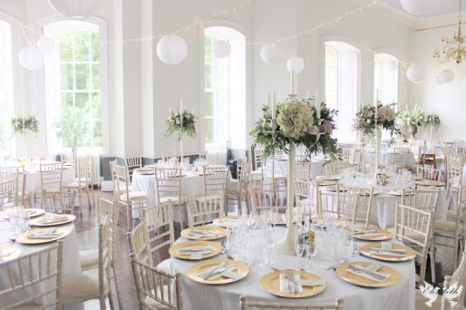 Candelabras, fairy lights and lanterns at KWH- Styling by Elizabeth Weddings