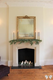 Mantelpiece love at St Tewdrics - Elizabeth Weddings