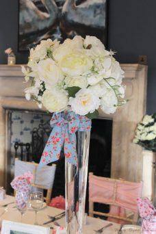 Cath Kidston bespoke bows, styling by Elizabeth Weddings