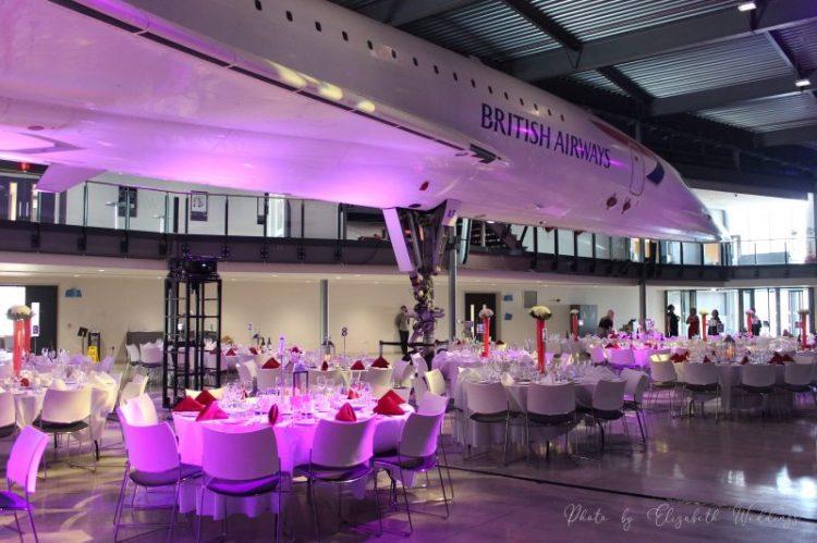 Aerospace Bristol Event, styling by Elizabeth Weddings