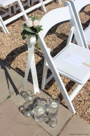 Candles and handmade fans, styling by Elizabeth Weddings