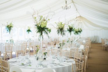 Marquee styling, Elizabeth Weddings