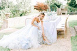Hamswell House table design in dusty blue, Elizabeth Weddings (6)